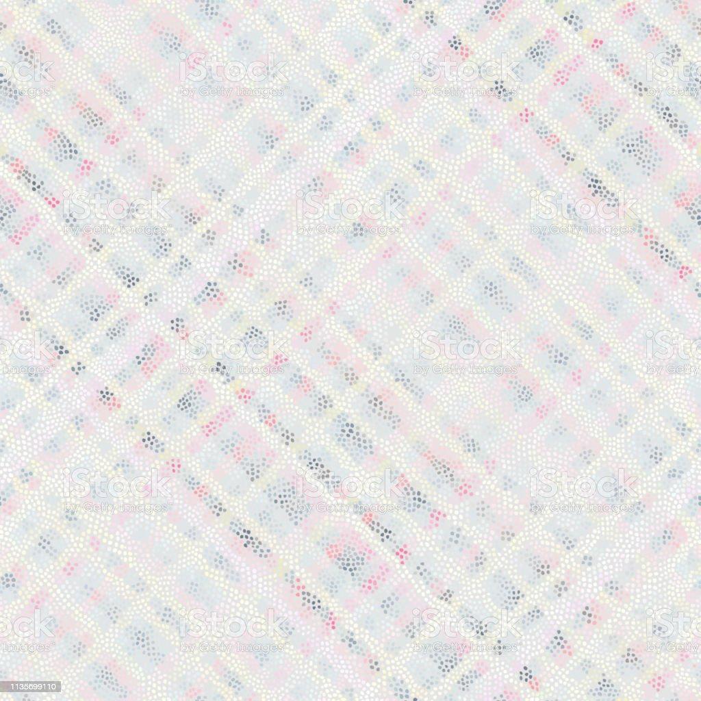 Motif Géométrique Abstrait Diagonale à Carreaux En Faible