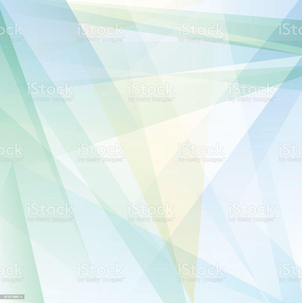 Ilustración De Fondo Azul Claro Abstracta Geométrica