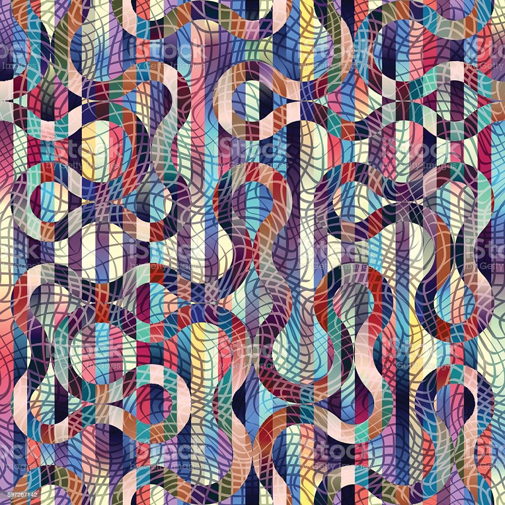 Geometrische Abstrakte Muster. Lizenzfreies geometrische abstrakte muster stock vektor art und mehr bilder von abstrakt