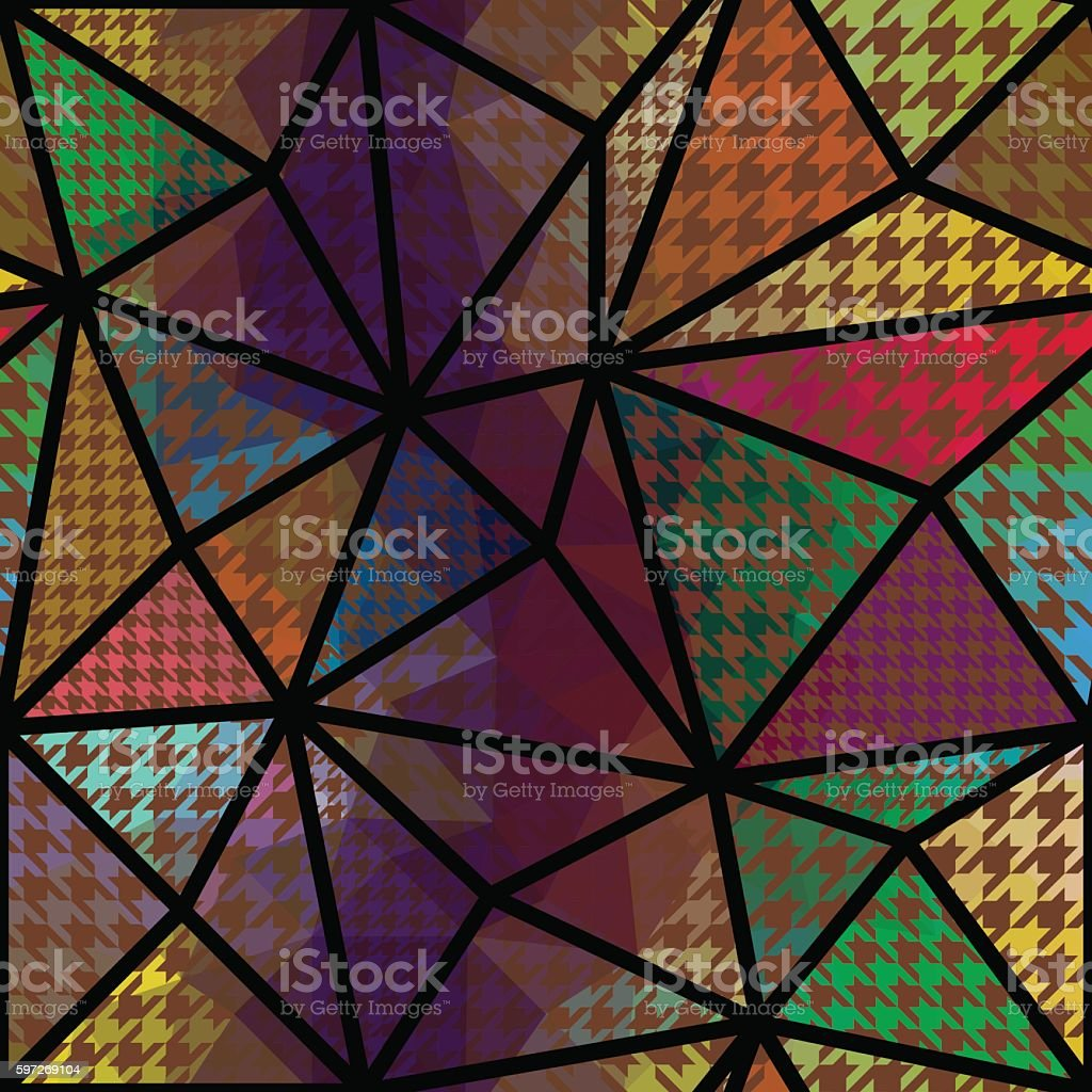Geometric abstract pattern. royalty-free geometric abstract pattern stock vector art & more images of abstract