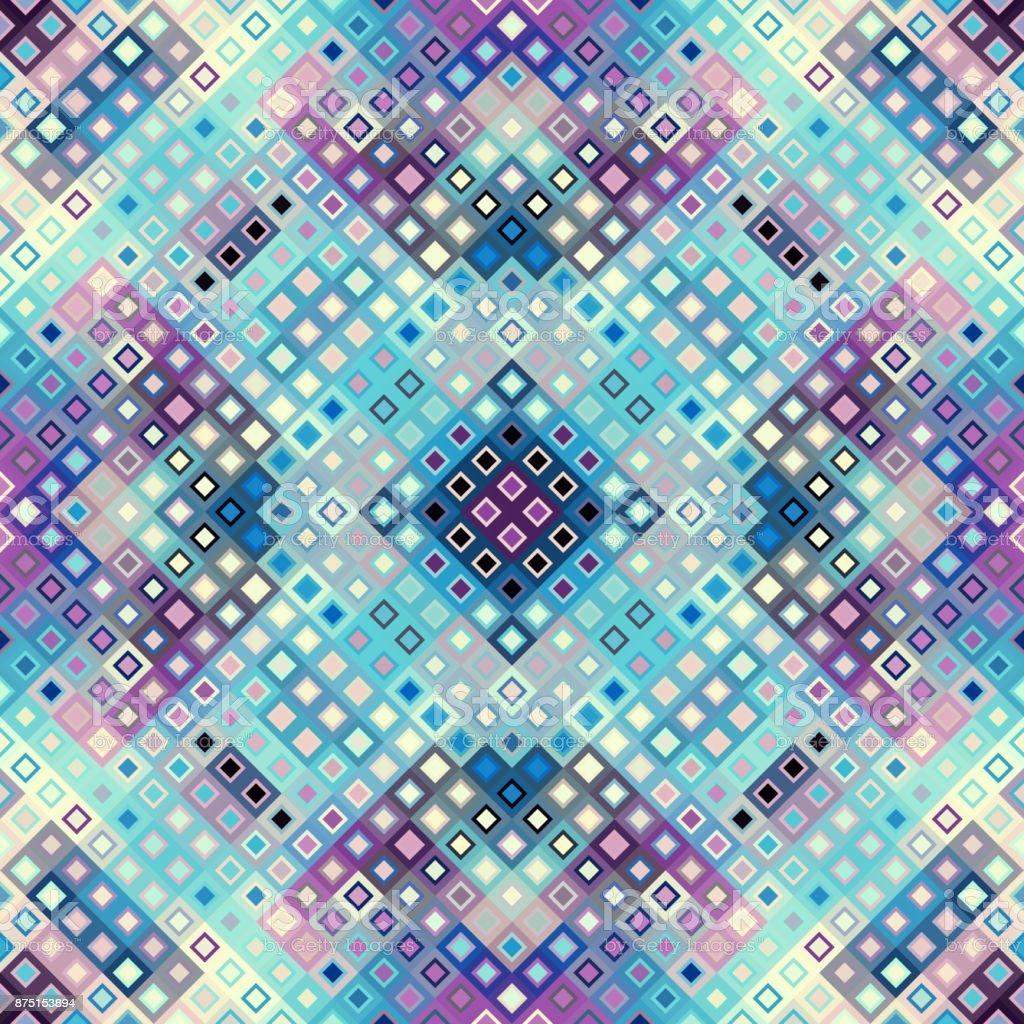 Geometric abstract pattern. vector art illustration