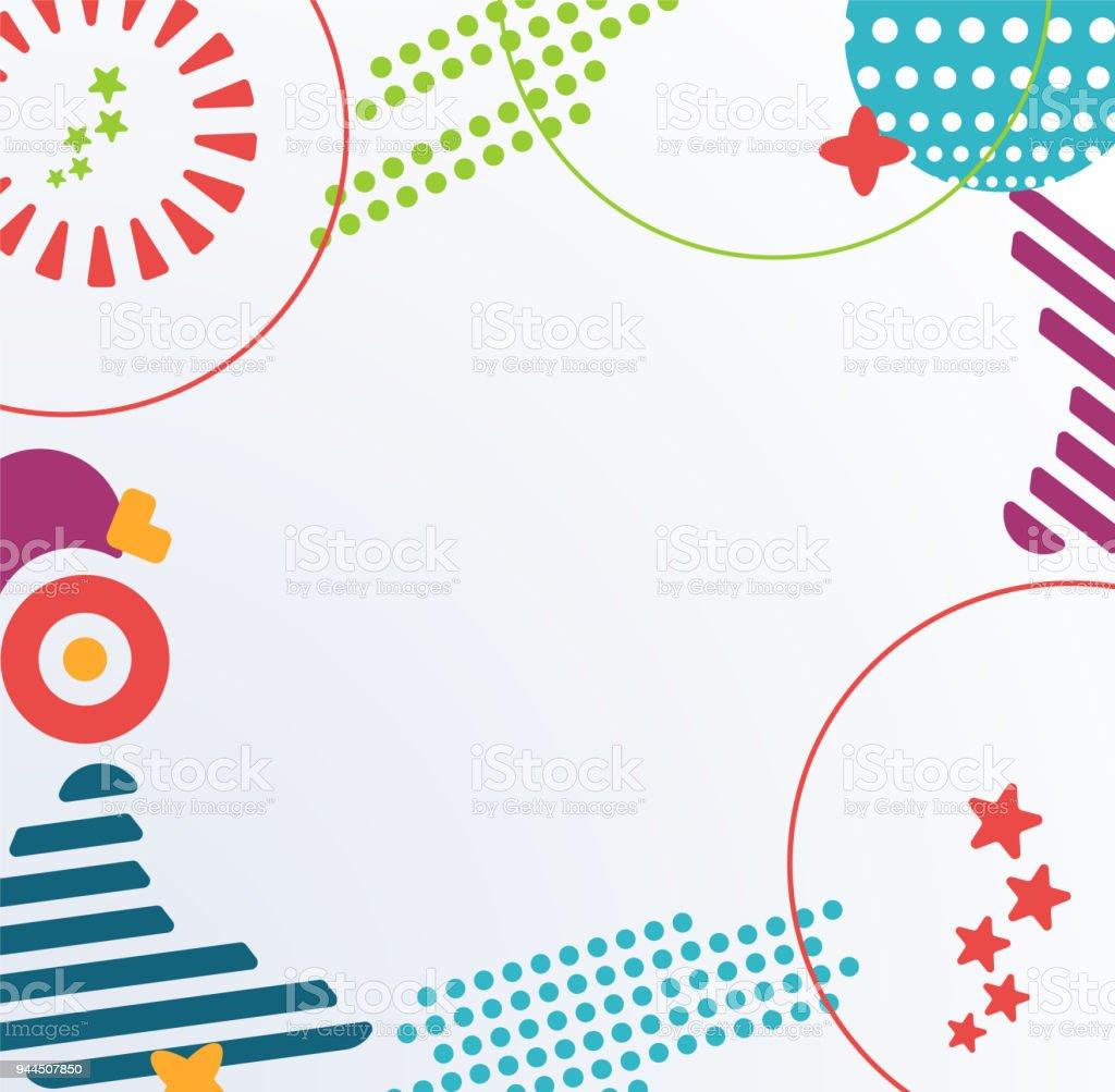 Ilustración de Patrón Geométrico Abstracto Con Formas Afiladas ...