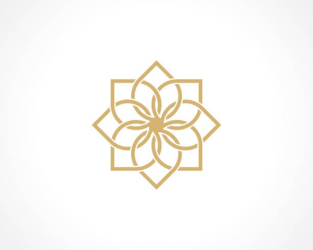 stockillustraties, clipart, cartoons en iconen met geometric arabic pattern - oost