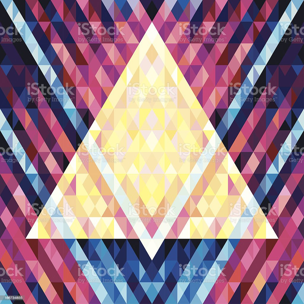 Geometric Background Seamless Vector Pattern 02 vector art illustration