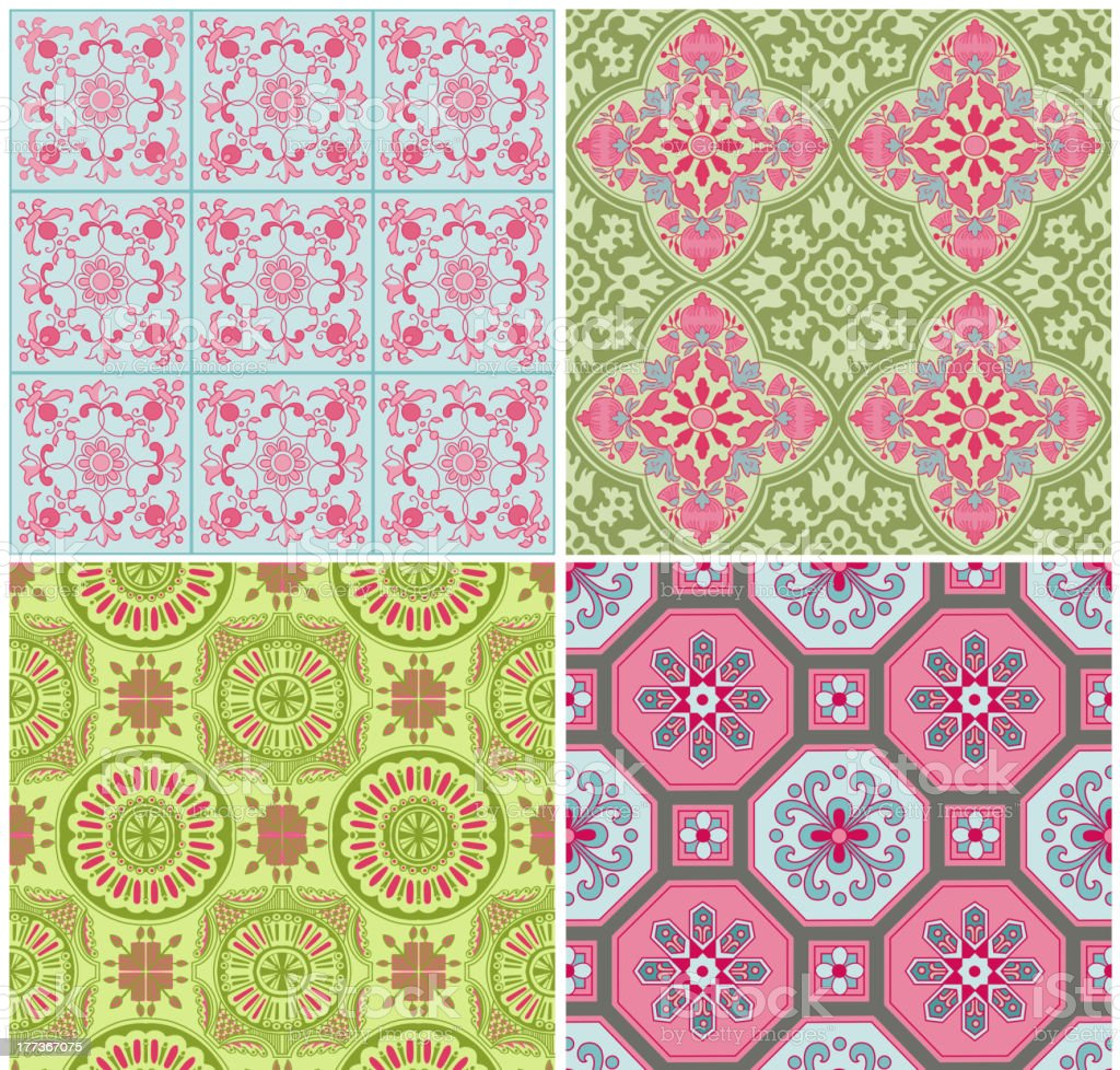 Geometric Background Set royalty-free geometric background set stock vector art & more images of backgrounds