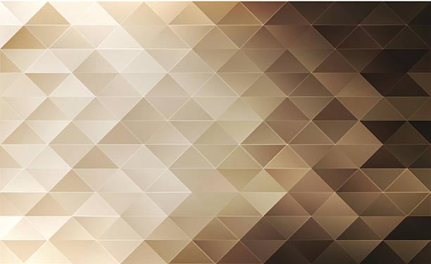 geometrische hintergrund - dunkelbraun stock-grafiken, -clipart, -cartoons und -symbole