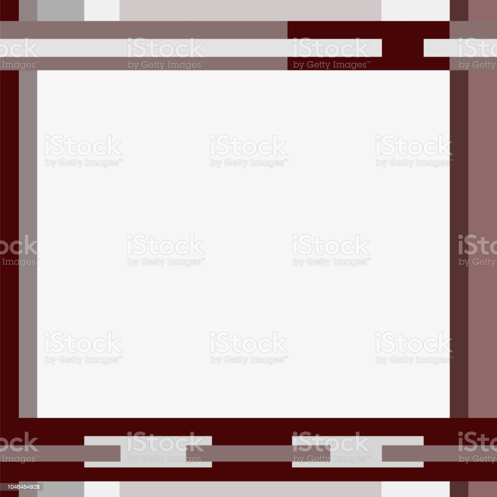 Geometric background with big text box. Abstract pattern of bordo, gray rectangles and strips. Modern template, flat minimalist design. Layout for billboards, placards, banners, posters, flyers. Vector EPS10 illustration векторная иллюстрация