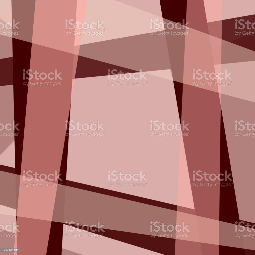 Ilustración de Fondo Geométrico Con Marco De Color Granate Bordo ...