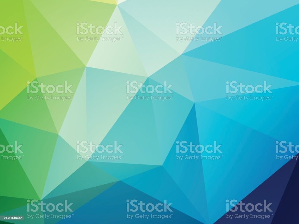 geometric blue green texture background vector art illustration