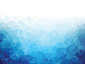 istock Geometric blue ice texture background 513475408
