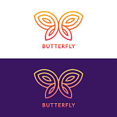 Geometric butterfly sign