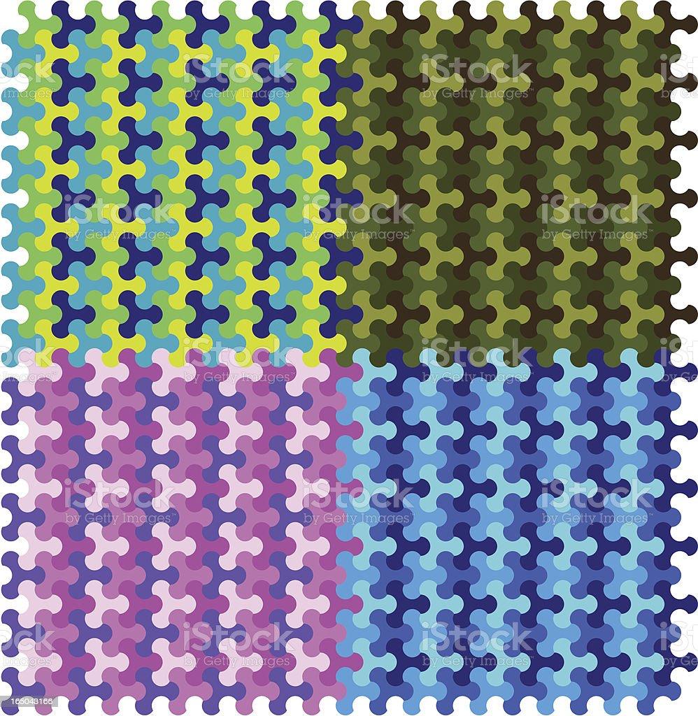 Geometrische camouflage – Vektorgrafik