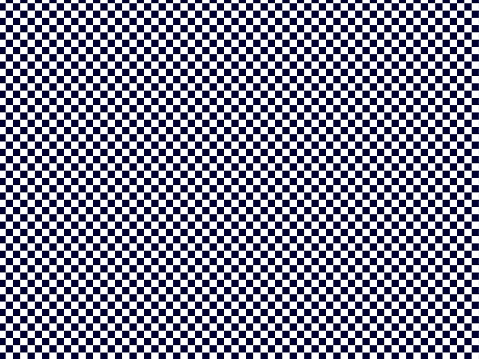 Geometric chess Graphic cute art background in white and navy colours