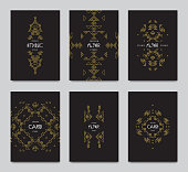 Vector abstract background templates - set of modern elements for brochure, poster, banner, greetings card, cover design.