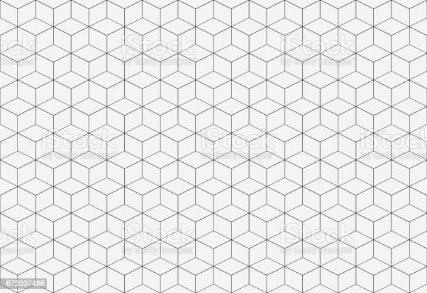 Geometric cube abstract background vector line seamless pattern cube vector id672007486?b=1&k=6&m=672007486&s=612x612&h=gbovk0lxdwgdygcsuhlpp3jmkrcoinbtmyb99vqditi=