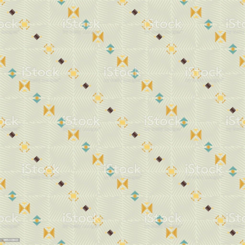 Geometric ethnic seamless pattern geometric ethnic seamless pattern - stockowe grafiki wektorowe i więcej obrazów abstrakcja royalty-free