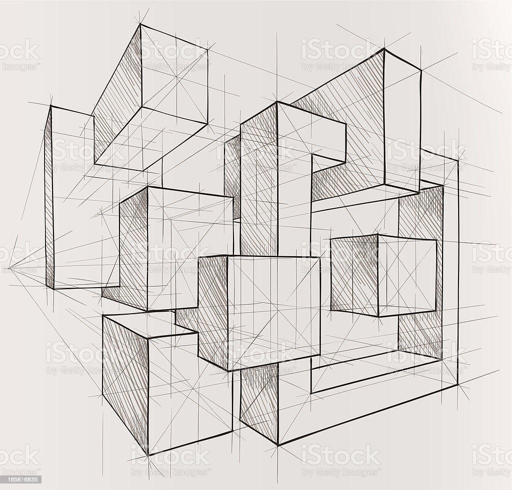 geometric figures royalty-free stock vector art