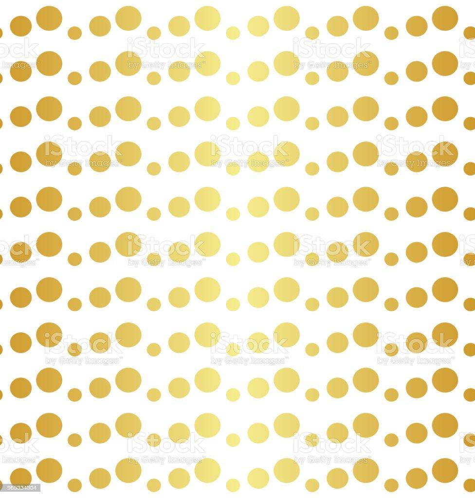 기하학적 인 황금 완벽 한 패턴 - 로열티 프리 0명 벡터 아트