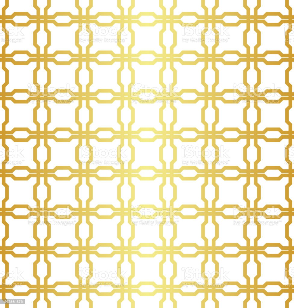 Geometric golden seamless pattern royalty-free geometric golden seamless pattern stock illustration - download image now