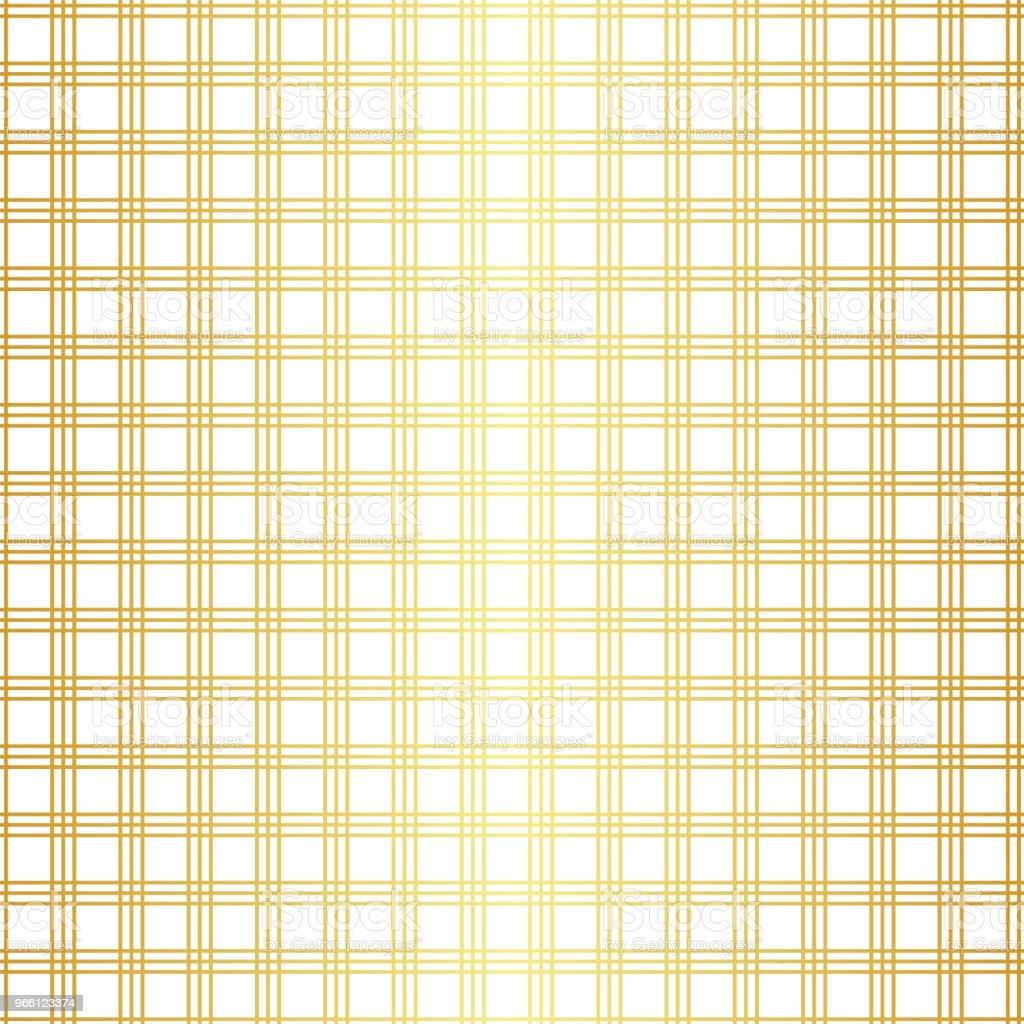 Geometric golden seamless pattern - Векторная графика Абстрактный роялти-фри