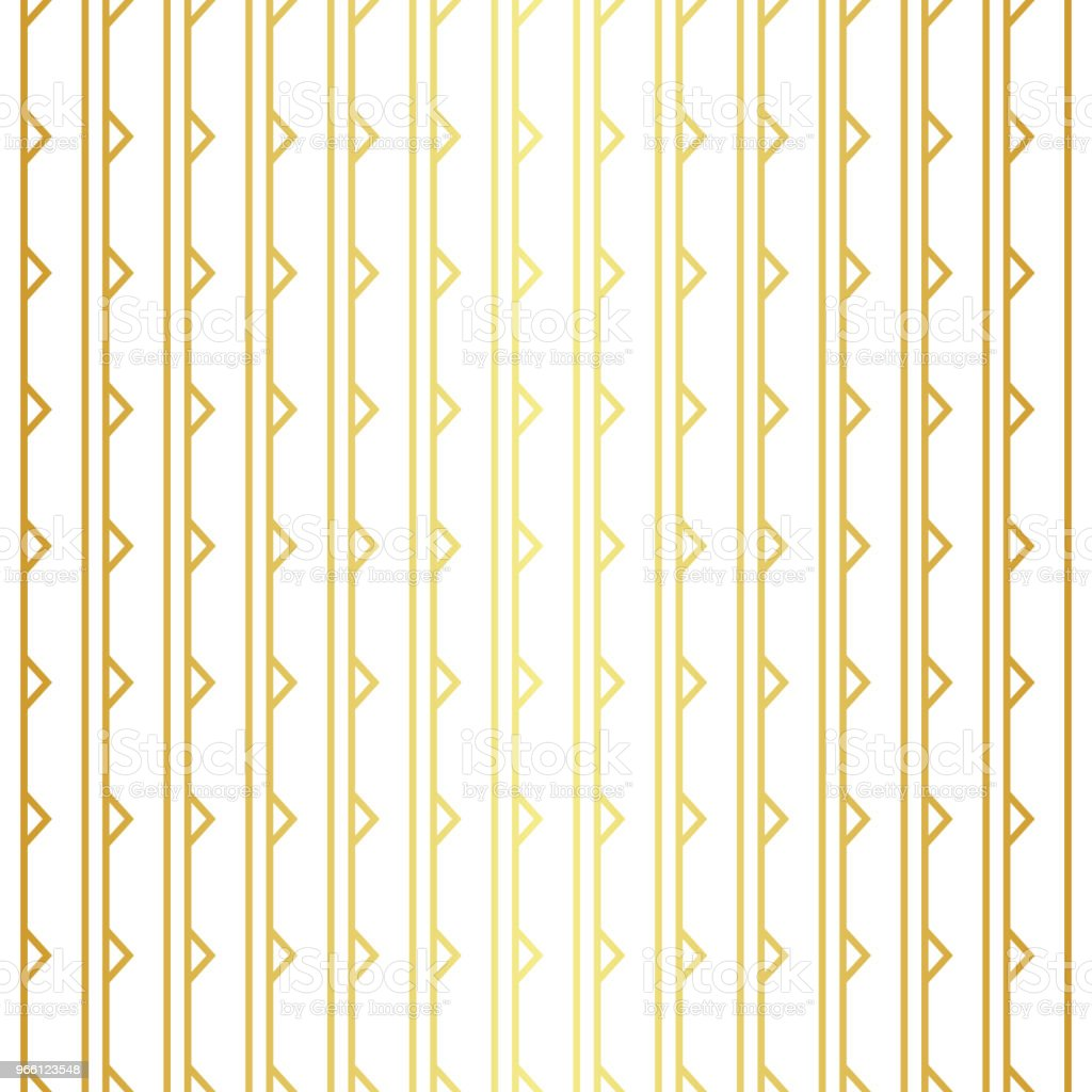Geometric golden seamless pattern - Royalty-free Abstrato arte vetorial