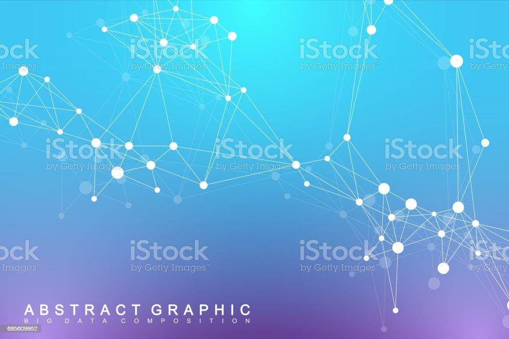 幾何圖形背景分子和通信。大資料複雜與化合物。極簡向量背景。數位資料視覺化。科學控制論例證 免版稅 幾何圖形背景分子和通信大資料複雜與化合物極簡向量背景數位資料視覺化科學控制論例證 向量插圖及更多 low-poly-modelling 圖片