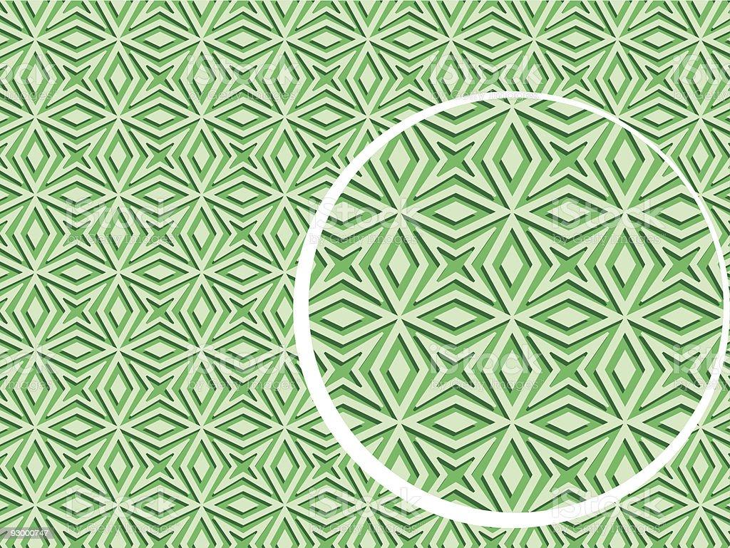 geometric green background royalty-free stock vector art