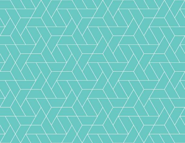 geometric grid seamless pattern - geometric backgrounds stock illustrations, clip art, cartoons, & icons