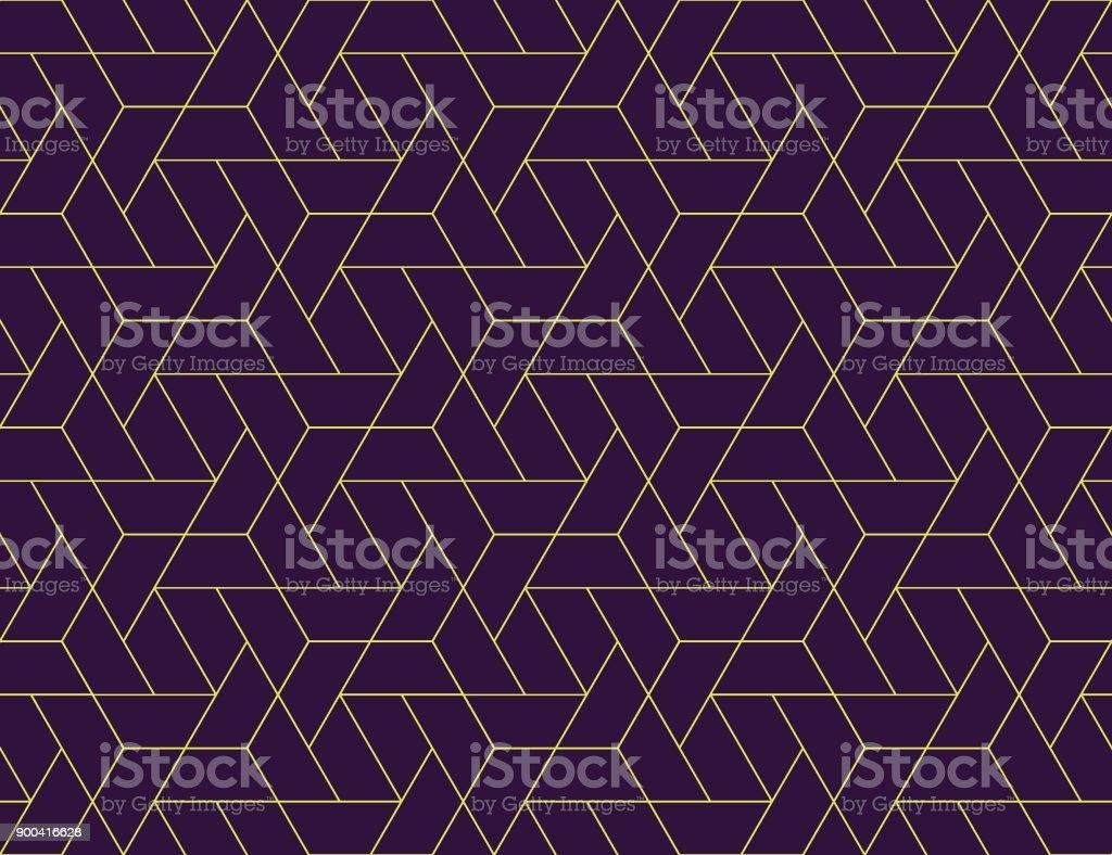 기하학적 그리드 완벽 한 패턴 - 로열티 프리 0명 벡터 아트
