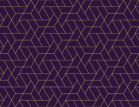 기하학적 그리드 완벽 한 패턴 0명에 대한 스톡 벡터 아트 및 기타 이미지