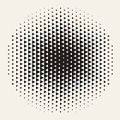 istock Geometric Halftone Background Design Element 1220380639