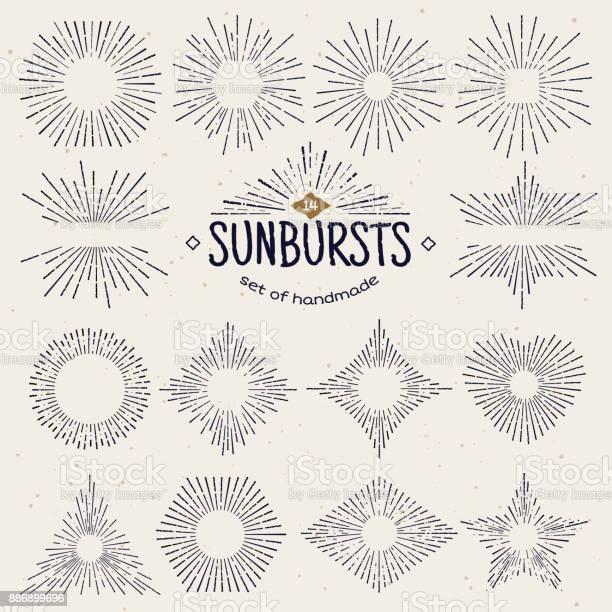 Geometric hand drawn sunburst sun beams in different forms star with vector id886899696?b=1&k=6&m=886899696&s=612x612&h=uvxgb5bkb9x7hga8 excnioakmi2qkjzx6 v8hl7iqa=