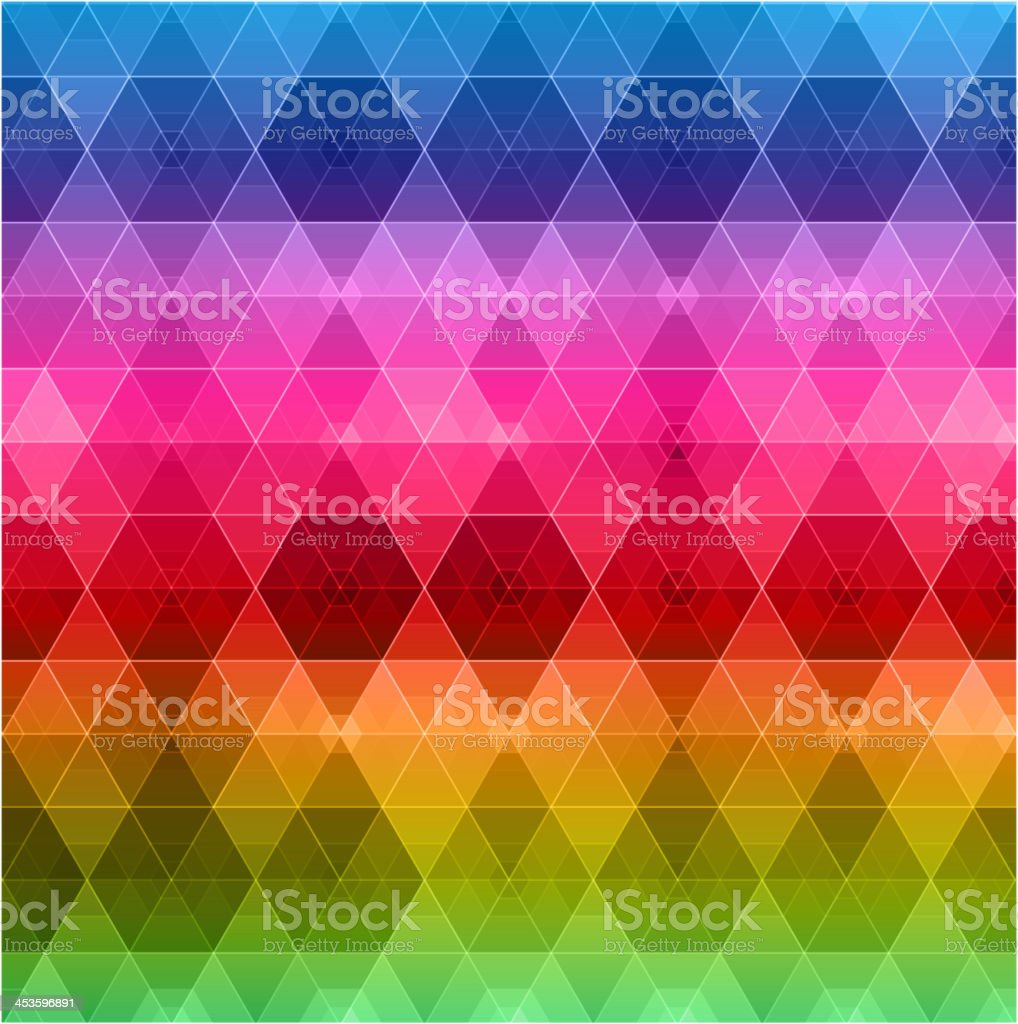 Geometric hipster retro background royalty-free stock vector art