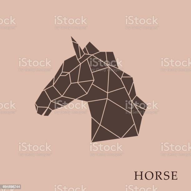 Geometric horse head on a brown background side view vector vector id694898244?b=1&k=6&m=694898244&s=612x612&h=lk8e9meqajoar9jwzbc9re4an5ymkyh5ireyageb s8=
