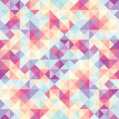 Geometric Low Poly Pattern