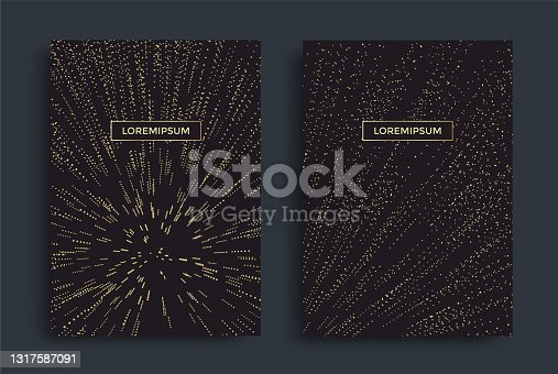 istock Geometric motion background starburst line or rays 1317587091