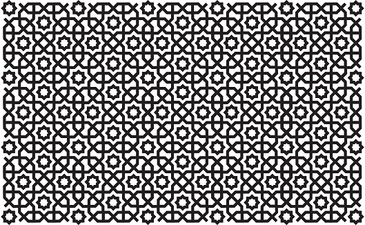 Geometric oriental / islamic seamless pattern.