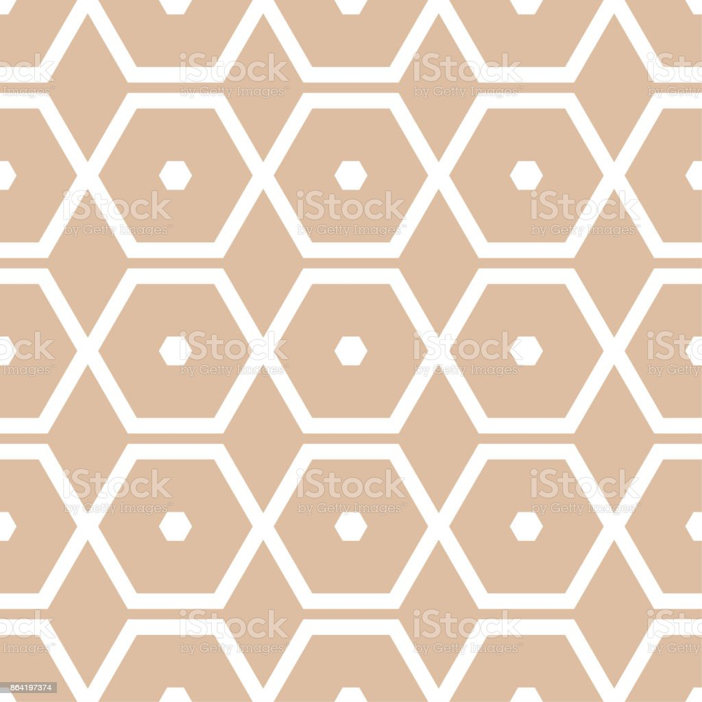 Geometric ornament. Beige and white seamless pattern royalty-free geometric ornament beige and white seamless pattern stock vector art & more images of abstract