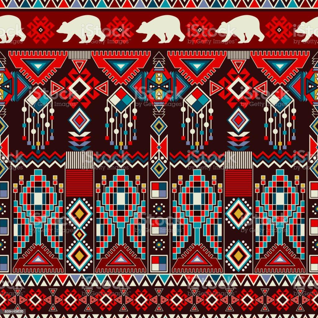 陶器壁紙織物webカードの幾何学的な装飾エスニック パターン罫線飾りネイティブ アメリカン デザインナバホー人メキシコをモチーフにアステカの飾り イラストレーションのベクターアート素材や画像を多数ご用意 Istock