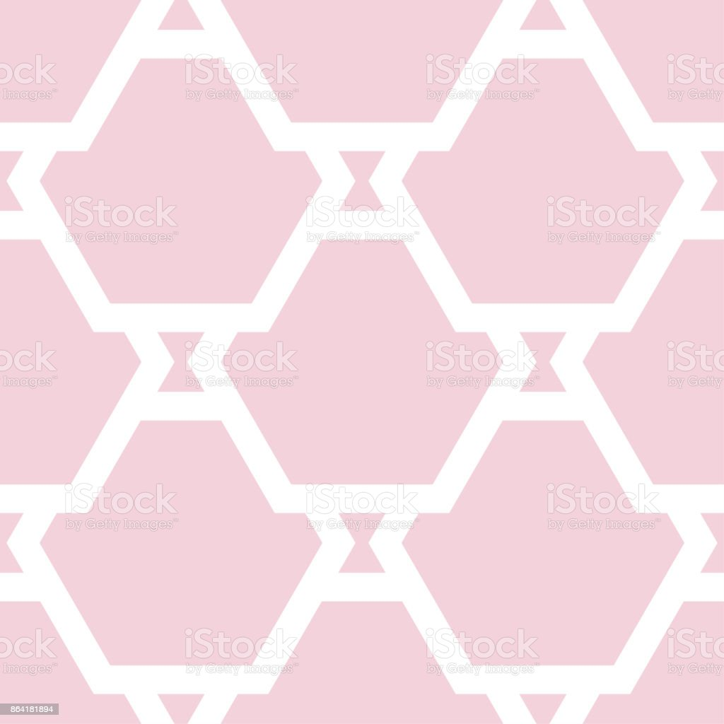 Geometric ornament. Pale pink seamless pattern royalty-free geometric ornament pale pink seamless pattern stock vector art & more images of art product