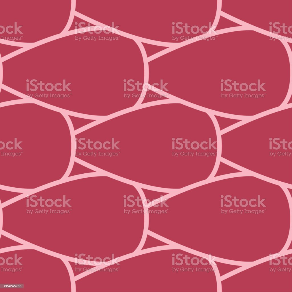Geometric ornament. Red and pale pink seamless pattern royalty-free geometric ornament red and pale pink seamless pattern stock vector art & more images of abstract