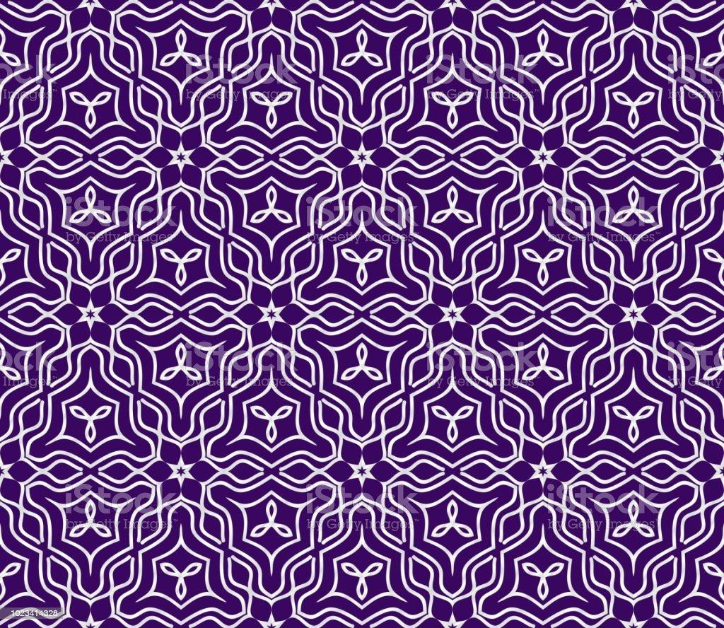 Geometrisches Ornament Nahtlose Jugendstilmuster