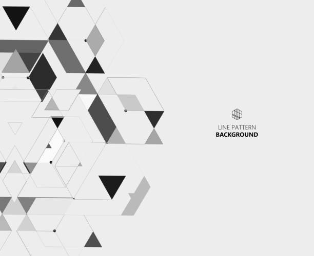 illustrazioni stock, clip art, cartoni animati e icone di tendenza di geometric pattern background - rombo