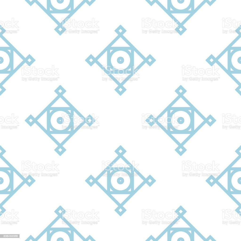 Motif Géométrique Pour Papiers Peints Arrièreplan Transparent Bleu ...