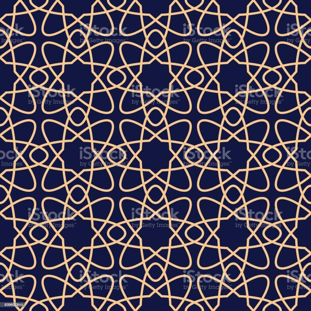 Motif Geometrique Pour Papiers Peints Fond Transparent Bleu Or