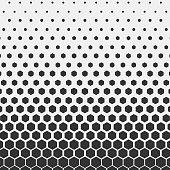 istock Geometric pattern. Hipster fashion design print hexagonal pattern. Black honeycombs on a light background. Vector Illustration. 899087166