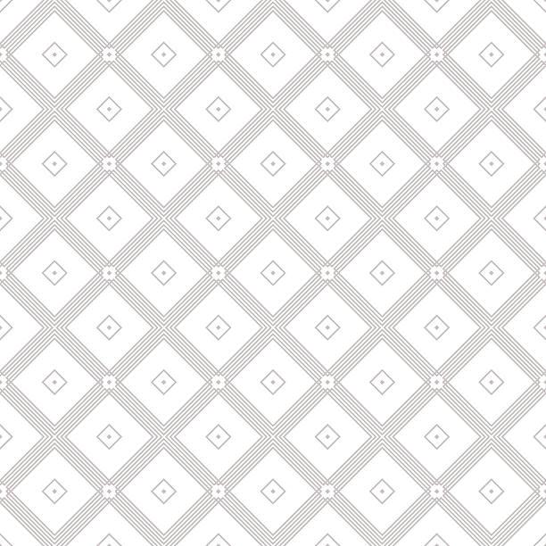 geometrisches muster mit schmalen silhouette. - rankgitter stock-grafiken, -clipart, -cartoons und -symbole