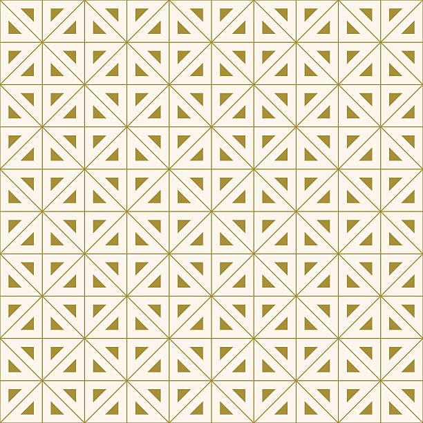 geometrisches muster mit dreiecken - rankgitter stock-grafiken, -clipart, -cartoons und -symbole