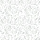 Geometric mosaic pattern - a seamless vector background