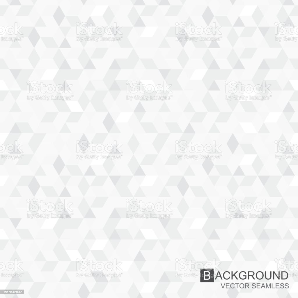 Geometric pattern - seamless vector background vector art illustration